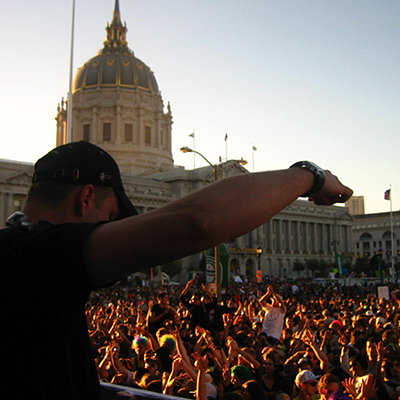 DJ Dan at Love Parade